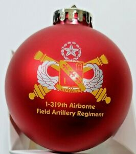 Christmas-Ornament-I-319th-Airborne-Field-Artillery-Regiment-Perfect-Condition
