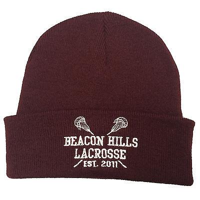 Teen Wolf Stilinski Lahey McCall Retro Hat Beacon Hills Lacrosse Baseball Cap