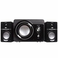Arion Legacy Ar306 Ac Powered 2.1 Speaker System With Subwoofer For Mp3, Pc, ...