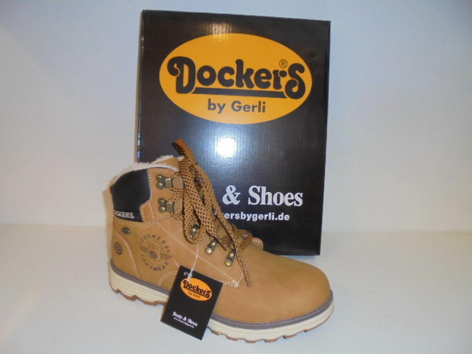 Neu Dockers Dockers Neu Damenschuhe gelb Stiefelette Stiefel 41TE720 gelb Damenschuhe a2029e