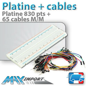 Pack-platine-d-039-essai-830-pts-65-cables-Male-Male