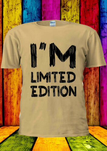 I/'M LIMITED EDITION INSTAGRAM Indie T-Shirt Canotta Tank Top uomini donne unisex 1794