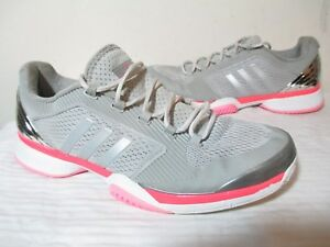 Details about ADIDAS AQ2379 BY STELLA MCCARTNEY 2016 BARRICADE WMNS TENNIS SHOES US 10½ UK 9 E