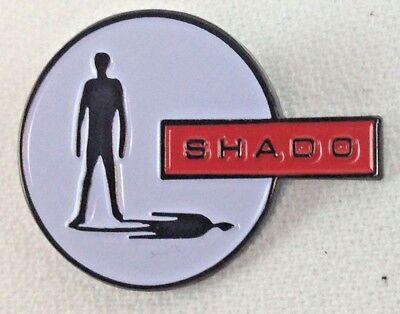 UFO Shadows Emaille Pin Gerry Anderson Britisch TV Fernseher Serie Logo