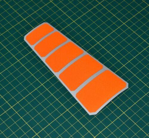 High Visibility Reflective Chevron Stickers for Crash Helmet Safety Hi-vis