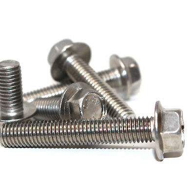 Dresselhaus Hexagonal-Headed Screws with Thread up to The Head A2 M 10 x 50 MM Pack of 50