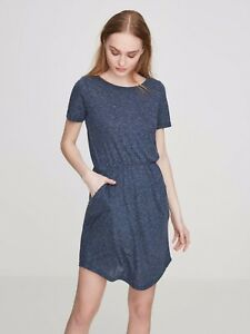 Vero-Moda-Casual-Short-Sleeved-Dress-Blue-Size-UK-8-rrp-15-DH079-RR-21