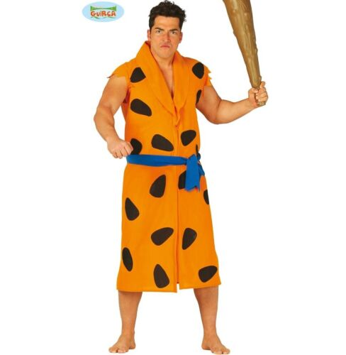 Mens Caveman Fancy Dress Costume Cave Man Outfit Stag Night fg