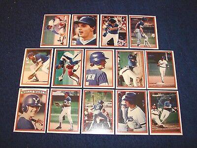 1986 Utah Sports Wally Joyner Wally World Set Of 14 Cards Byu Angels