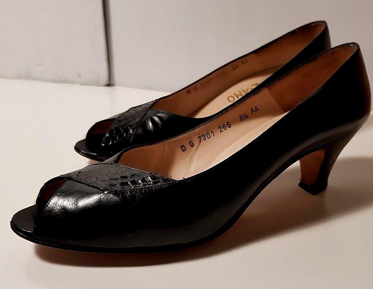 Salvatore Ferragamo pumps Heels schuhe Größe 8.5
