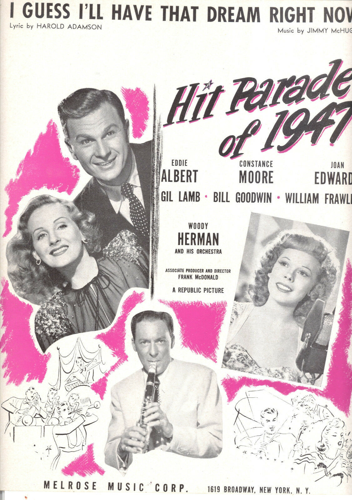 Hit Parade 1947   I Guess I'Ll Have That Dream Now   Woody Herman Konstanz
