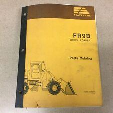 New Listingfiat Allis Fr9b Wheel Loader Parts Manual Catalog Book List Guide Pn 73155279