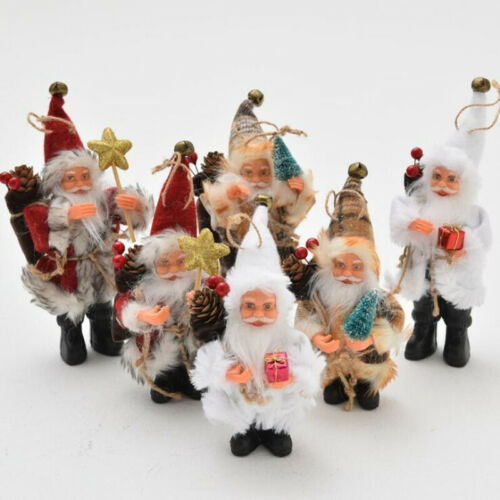 Christmas Tree Xmas Santa Claus Hanging Pendant Ornament Home Party Decor LH