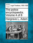 The Police Encyclopaedia. Volume 4 of 8 by Hargrave L Adam (Paperback / softback, 2010)