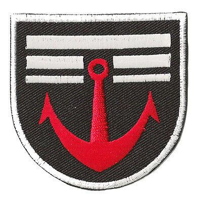Patch écusson patche Marine militaire Navy armée thermocollant brodé