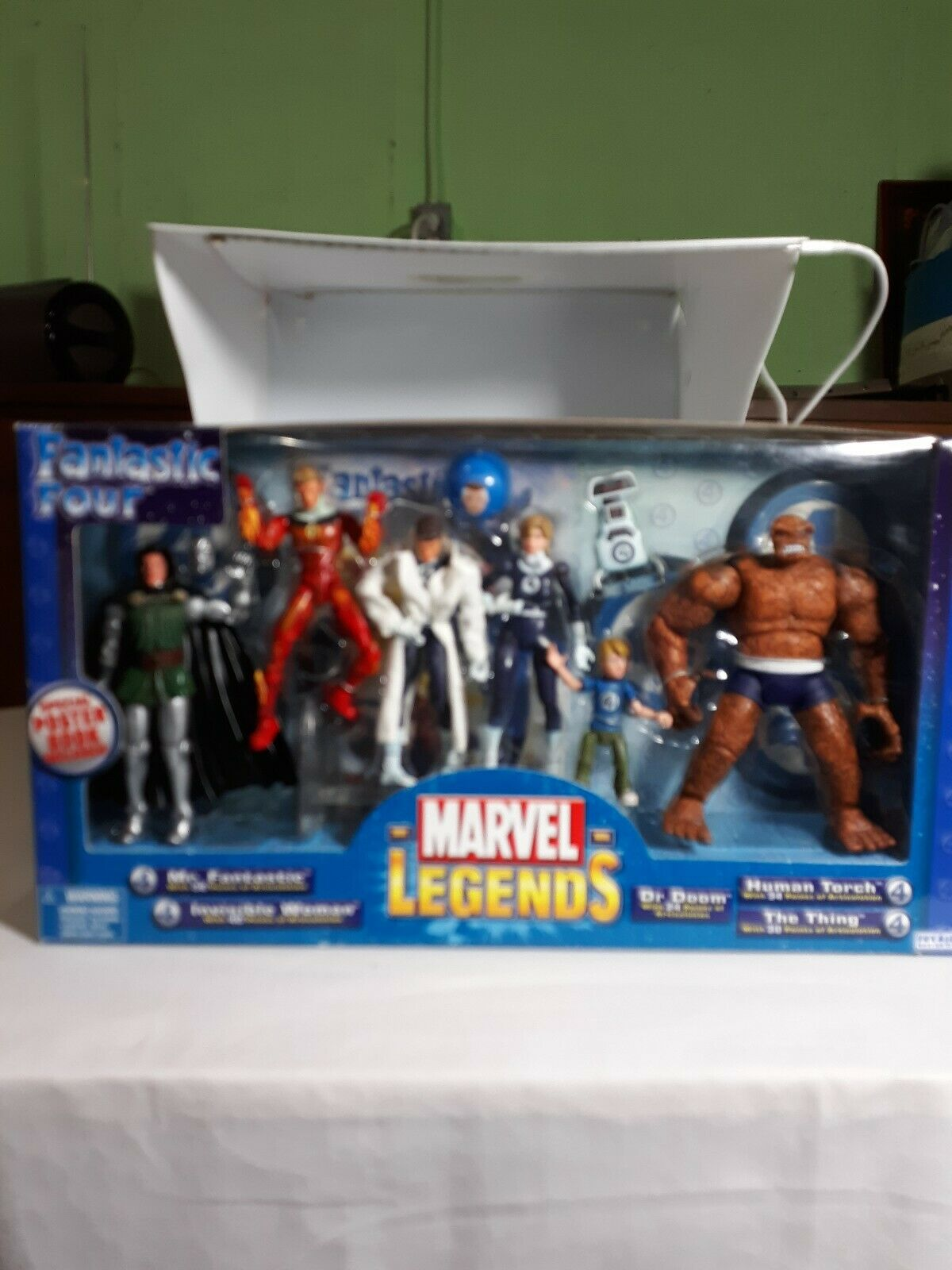 2003 ToyBiz - FANTASTIC FYR 4- Marvellegender Figur SEALD Box Set A21