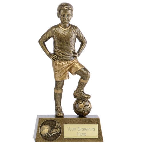 PHOENIX YOUTH MALE FOOTBALL TROPHY BOY PLAYER KIDS SCHOOL BALL AWARD A1788B B11