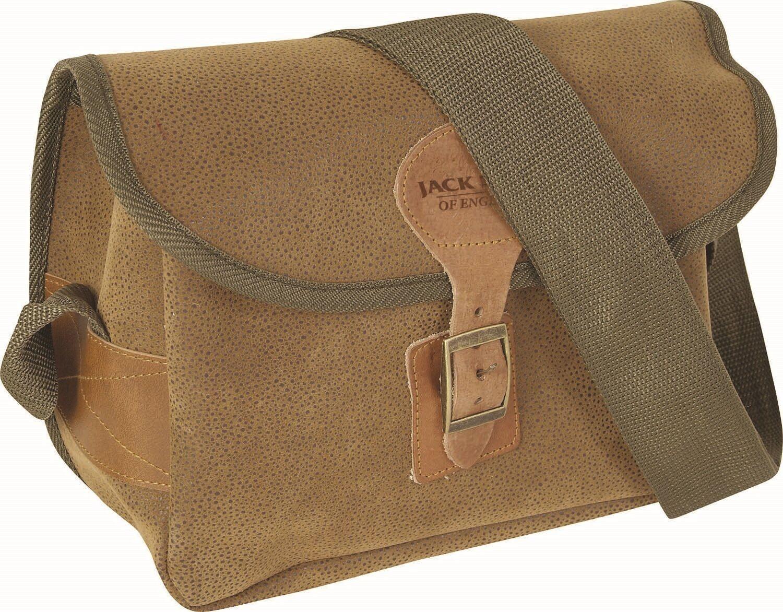 Buchse Pyke Braun Duotex Antik Leder-Optik 150 Kapazität Kapazität Kapazität Gewehrpatrone Tasche 39ebd4