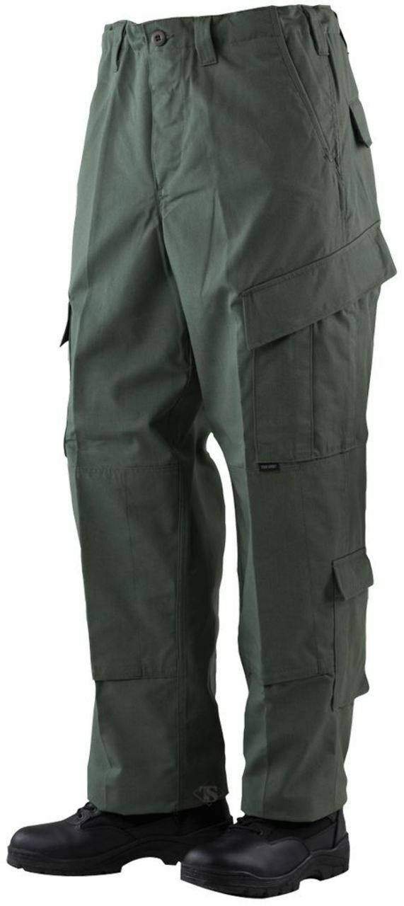 Tru-Spec TRU Trousers Olive Drab 65 35 Polyester, Cotton Rip-Stop