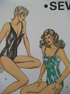 e6e5762eb31b KWIK•SEW 1220 MISSES' SIZE 6-12 SWIMSUITS SEWING PATTERN One Piece ...