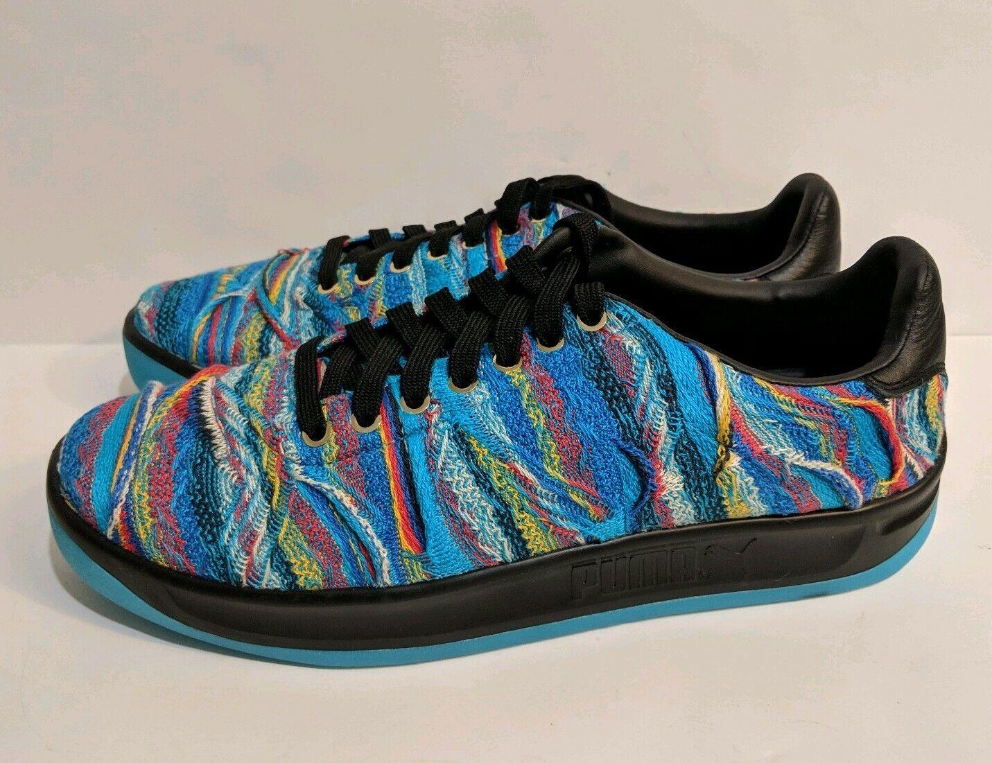 Puma California Coogi Multi Men's shoes bluee Atoll Puma Black Size 10 367973-01
