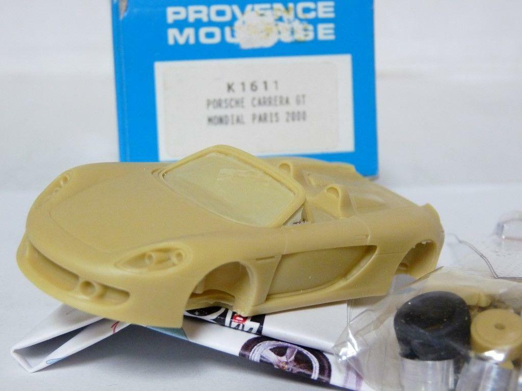 Provence Moulage K1611 1 43 Porsche Carrera GT Concept Resin Handmade Model Kit