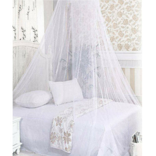 Princess Lace Mosquito Net Dome Bed Canopy for Double King Bed 2Color Choice