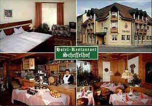 Bad-Saeckingen-Reklame-Karte-Hotel-Restaurant-Scheffelhof-ca-80-90er-Jahre