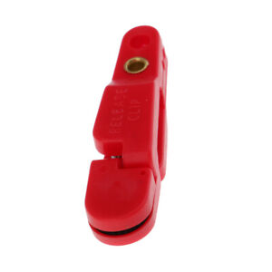 20 x Fishing Adjustable Planer Board Release Clip Line Clips Buckle Red