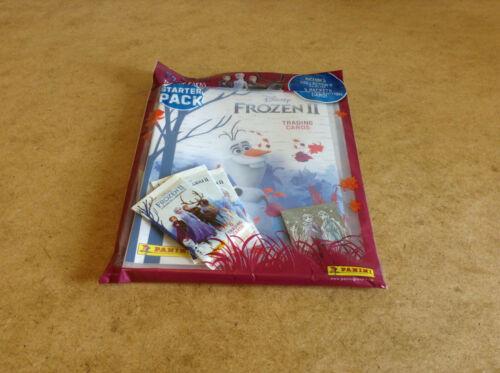 PANINI DISNEY FROZEN II TRADING CARD STARTER PACK FROZEN II LIMITED EDITION CARD