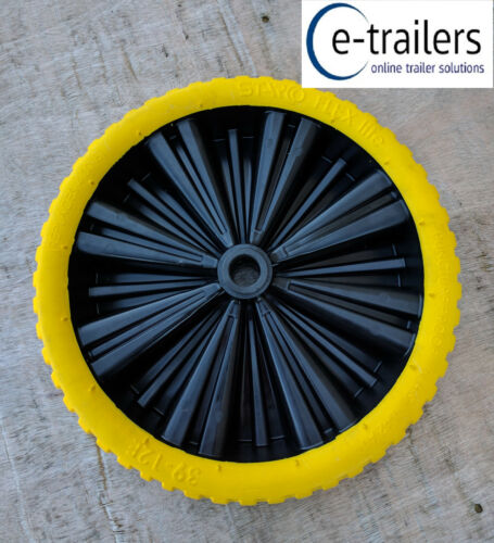 400x8 Starco Opti Flex-Lite Puncture Proof Boat Dinghy Launch Trolley Barrow