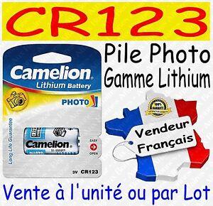 Piles-Photo-Lithium-3V-CR123A-DL123-EL123AP-CR17345-a-l-039-unite-ou-par-lot