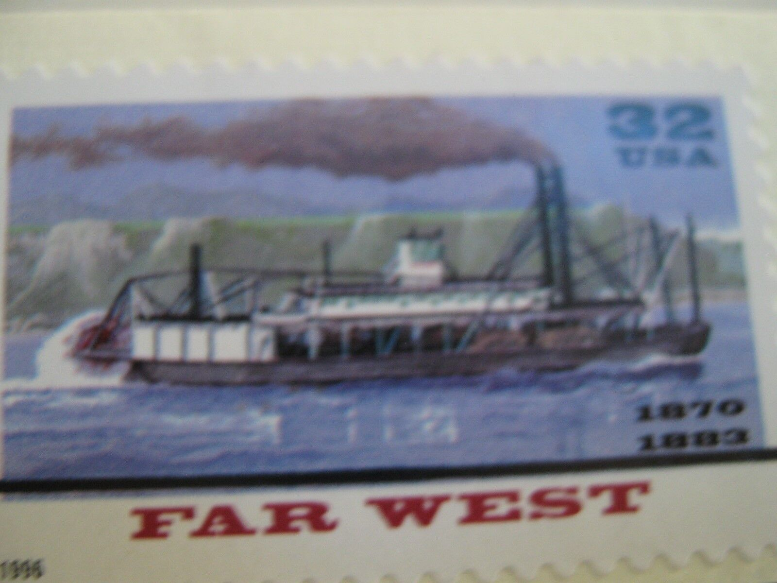 22 kt Gold Replicas of United States Stamps , Riverboat