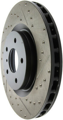 Front Left StopTech 127.63022L Sport Drilled//Slotted Brake Rotor 1 Pack