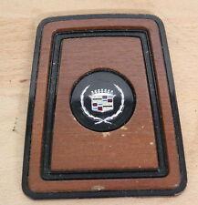 CADILLAC Emblem Vintage Script Holz