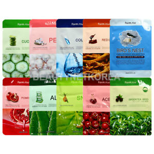 FARM-STAY-Visible-Difference-Mask-Sheet-10-Types-23ml-2pcs