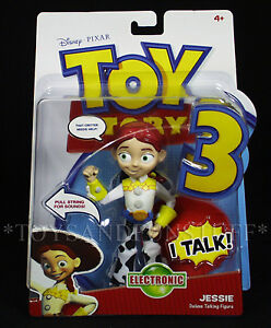 New-7-034-JESSIE-Deluxe-TALKING-FIGURE-Electronic-TOY-STORY-3-Pull-String-PIXAR