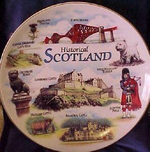 6-inch-Decorative-HISTORICAL-SCOTLAND-Plate-BEAUTIFUL