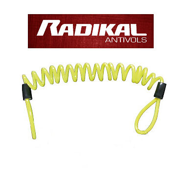 Cable Cordon Corde Bungee Rappel Anti Vol Oubli Antivol moto scooter Bike 120cm