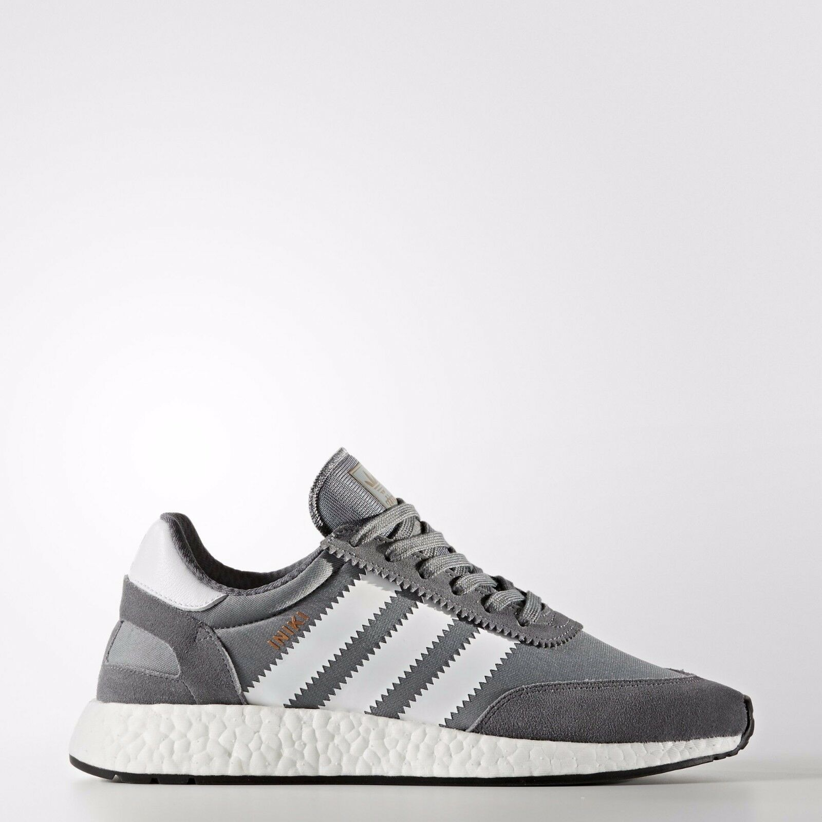 Adidas INIKI Runner size size size 9.5. Grey White Black . BB2089. nmd ultra boost pk 5faac0