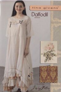 PATTERN-Daffodil-Dress-women-039-s-sewing-PATTERN-from-Tina-Givens