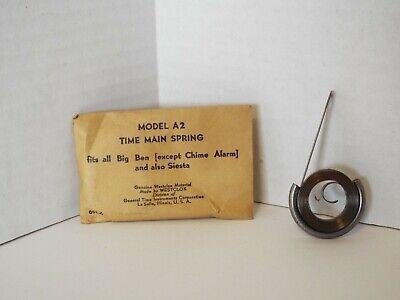Big Ben CHIME Alarm Spring Model No 69 Fits Big Ben Chime Alarm ONLY