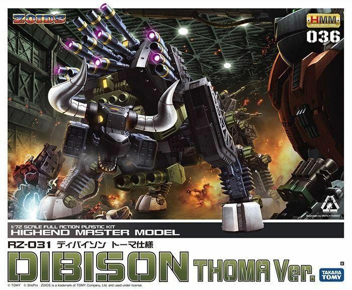 KOTOBUKIYA ZOIDS HMM 036 RZ-031 DIBISON THOMA Ver 1 72 Plastic Model Kit NEW