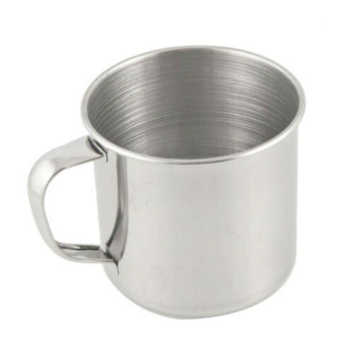 Portable Lightweight Stainless Steel Coffee Tea Mug Cup For Camping Travel Yy Gg