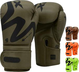 RDX-Guantoni-Boxe-Muay-Thai-Allenamento-Sparring-Kickboxing-Mitts-Punzonatura-IT