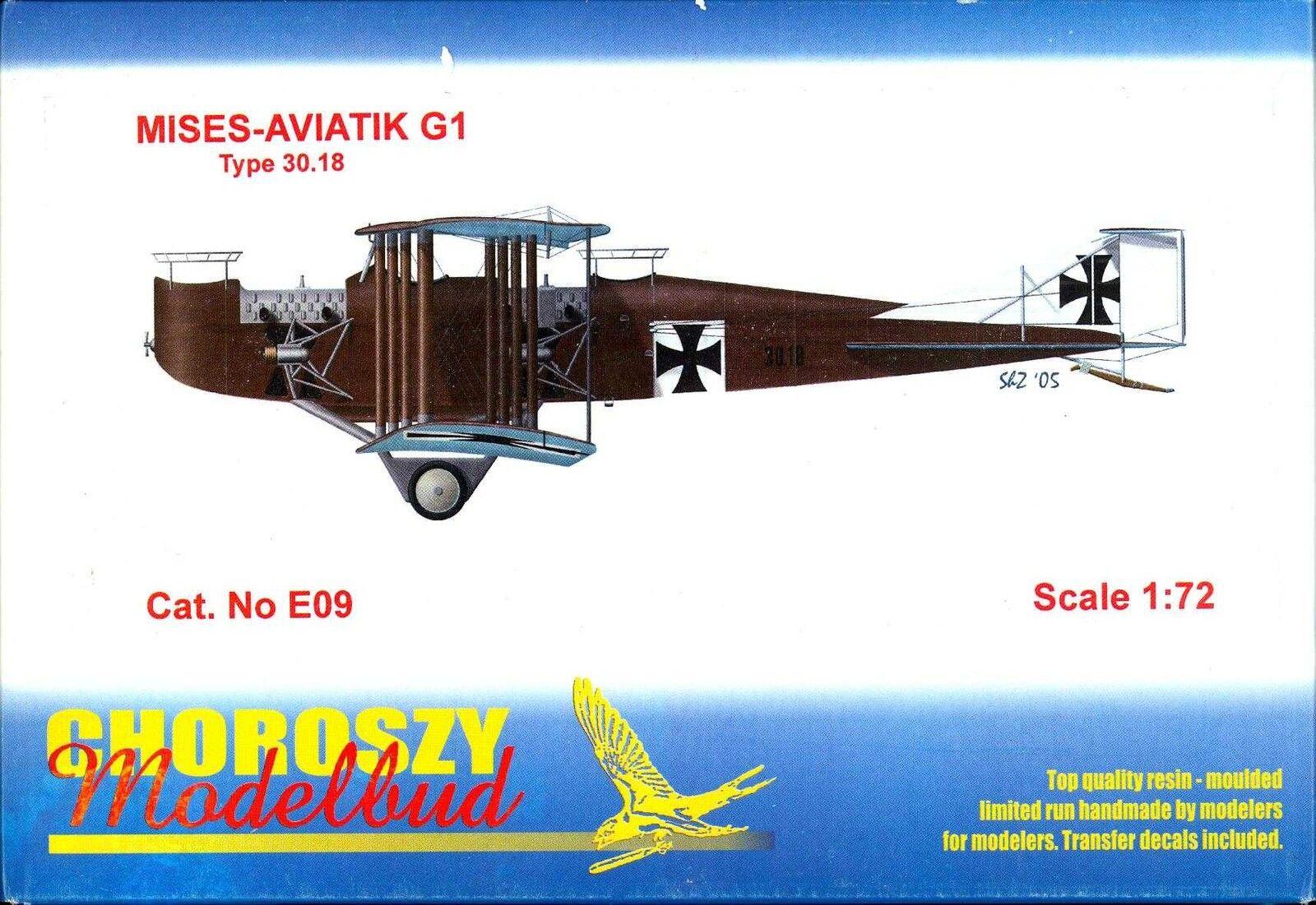 Chguldszy modellllerler 1  72 MIES AVIATIK G -1 Österrikiska WW I -Bomber