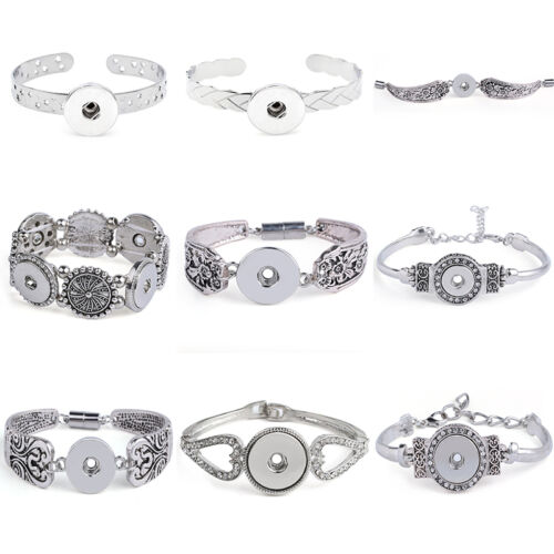 Hot Bracelets Perceuse fit for Noosa Snaps Chunk Charm Bouton U pick