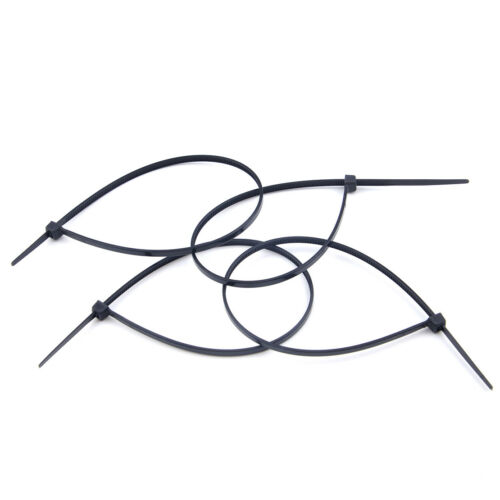 100pcs Self Locking Nylon Fasten Zip Cable Tie Wire Wrap Strap 3x200mm