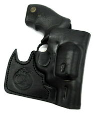 """CEBECI FRONT POCKET BLACK LEATHER CONCEALMENT HOLSTER for SPRINGFIELD XDS 3.3/"""""""