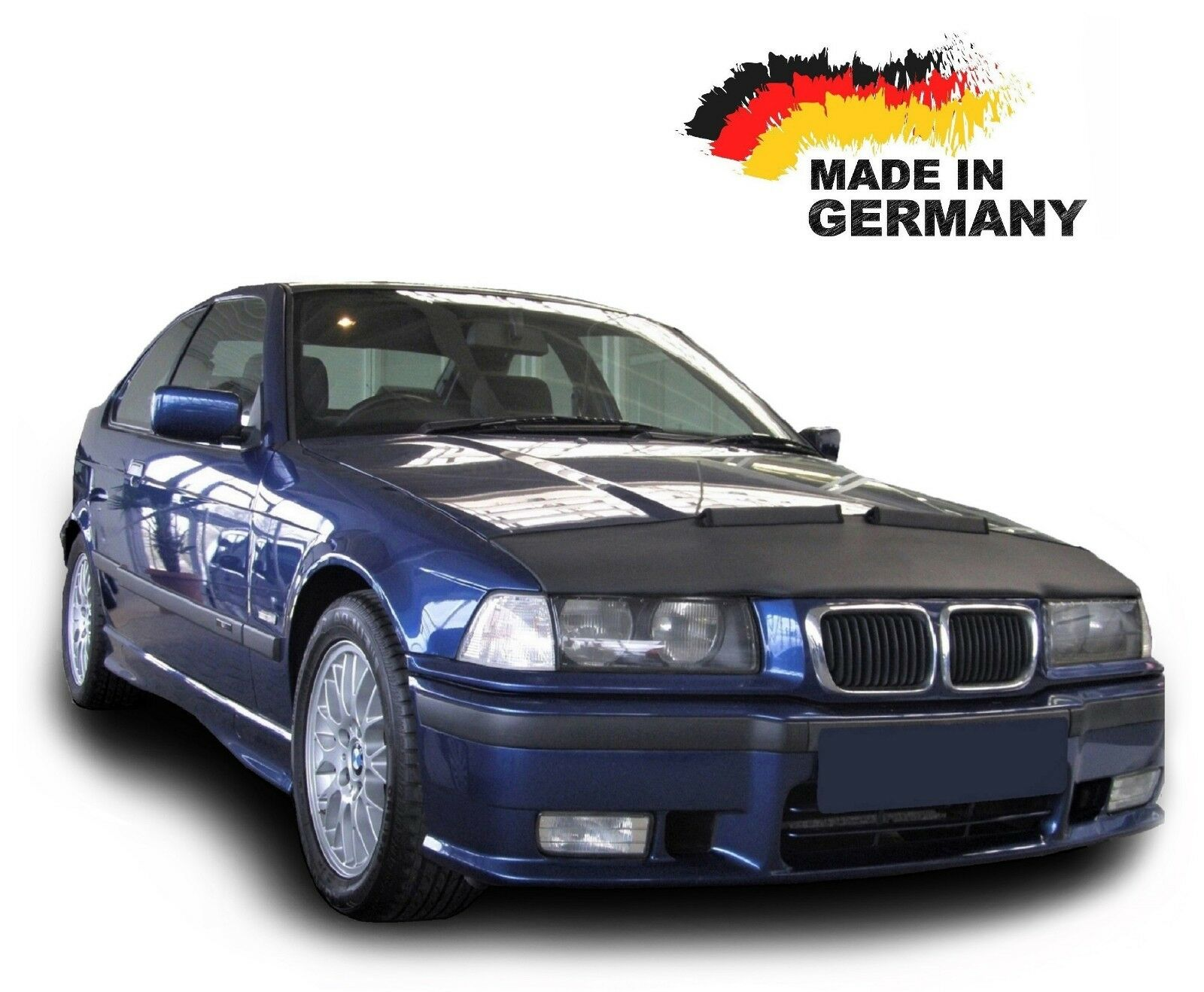HOOD BRA Front End Nose Mask for BMW 1 F20 since 2011 Bonnet Bra STONEGUARD PROTECTOR TUNING